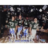 "New York Jets New York Sack Exchange Signed 16"" x 20"" Photo"