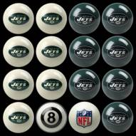 New York Jets NFL Home vs. Away Pool Ball Set