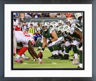 New York Jets Nick Mangold 2014 Action Framed Photo