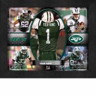 New York Jets Personalized Framed Action Collage