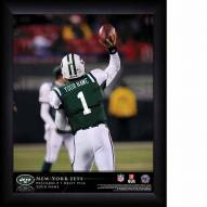 New York Jets Personalized NFL Action QB Framed Print