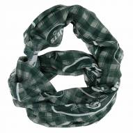 New York Jets Plaid Sheer Infinity Scarf