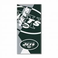 New York Jets Puzzle Beach Towel