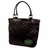 New York Jets Sport Noir Quilted Tote