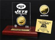 New York Jets Super Bowl III Champions Etched Acrylic