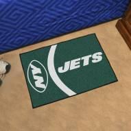 New York Jets Uniform Inspired Starter Rug