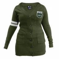New York Jets Women's Olive Varsity Cardigan