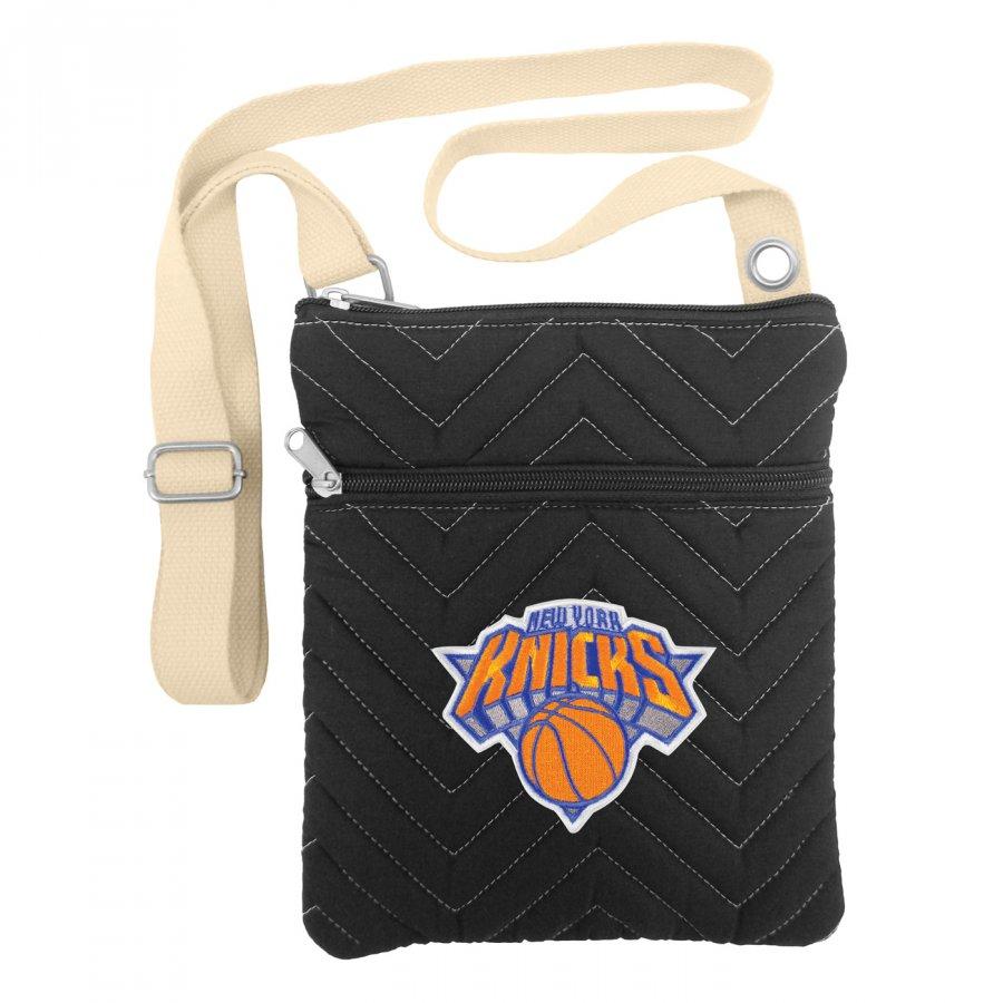 New York Knicks Chevron Stitch Crossbody Bag