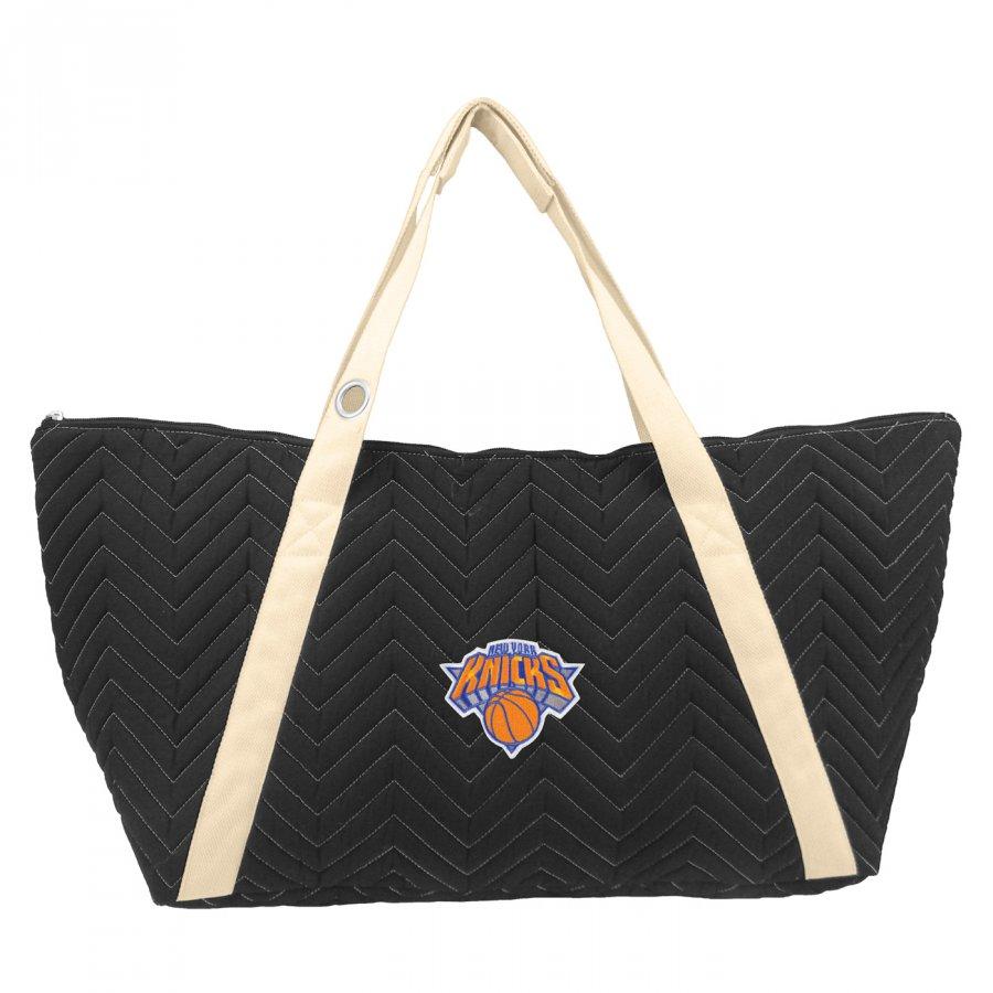 New York Knicks Chevron Stitch Weekender Bag