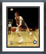 New York Knicks Jerry Lucas Action Framed Photo