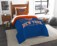 New York Knicks Reverse Slam Twin Comforter Set