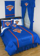 New York Knicks Sidelines Bed Comforter