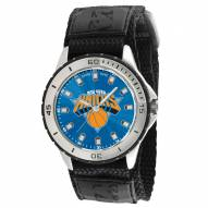 New York Knicks Veteran Velcro Mens Watch