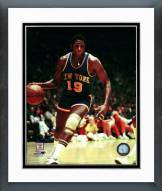 New York Knicks Willis Reed 1972 Action Framed Photo