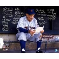 "New York Mets 1962 Casey Stengel (20 Signatures) (No Joe Christopher) Signed 16"" x 20"" Photo"