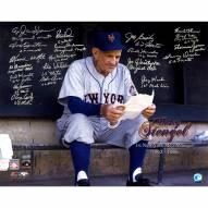 "New York Mets 1962 Casey Stengel (20 Signatures) (No Sammy Taylor) Signed 16"" x 20"" Photo"