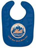 New York Mets All Pro Little Fan Baby Bib
