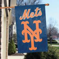 New York Mets Appliqué 2-Sided Banner Flag