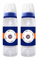 New York Mets Baby Bottles - 2 Pack