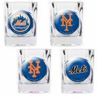 New York Mets Collector's Shot Glass Set