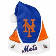 New York Mets Colorblock Santa Hat