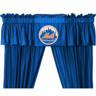 New York Mets Curtain Valance