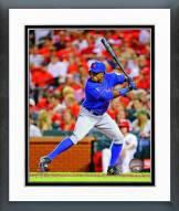 New York Mets Curtis Granderson 2014 Action Framed Photo