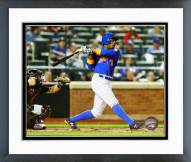 New York Mets Curtis Granderson 2015 Action Framed Photo