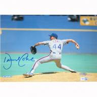 """New York Mets David Cone Pitching Signed 16"""" x 20"""" Photo"""