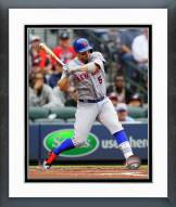 New York Mets David Wright 2015 Action Framed Photo