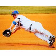 """New York Mets David Wright Diving For the Ball Signed 16"""" x 20"""" Photo"""