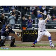 """New York Mets David Wright Walk Off Hit vs. Brewers Signed 16"""" x 20"""" Photo"""