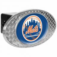 New York Mets Metal Diamond Plate Trailer Hitch Cover