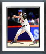 New York Mets Dillon Gee 2014 Action Framed Photo