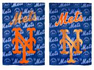 New York Mets Double Sided Glitter Flag