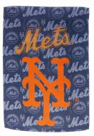 New York Mets Double Sided Glitter Garden Flag