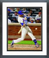 New York Mets Eric Campbell 2014 Action Framed Photo