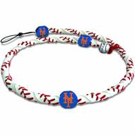 New York Mets Frozen Rope Baseball Necklace