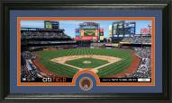 New York Mets Infield Dirt Coin Panoramic Photo Mint