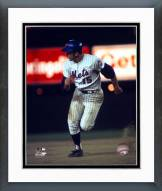 New York Mets Jerry Grote 1973 World Series Framed Photo