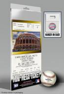 New York Mets Johan Santana No Hitter Mini Mega Ticket