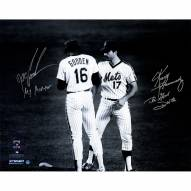 """New York Mets Keith Hernandez & Dwight Gooden Meet At The Mound w/ """"The Good Doctor"""" Signed 16"""" x 20"""" Photo"""