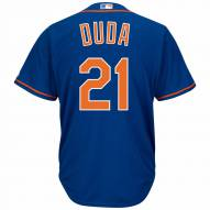 New York Mets Lucas Duda Replica Home Alternate Baseball Jersey