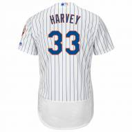 New York Mets Matt Harvey Authentic Home Baseball Jersey