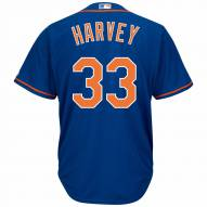 New York Mets Matt Harvey Replica Home Alternate Baseball Jersey