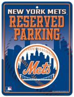 New York Mets Metal Parking Sign