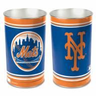 New York Mets Metal Wastebasket