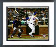 New York Mets Michael Conforto 2015 Action Framed Photo