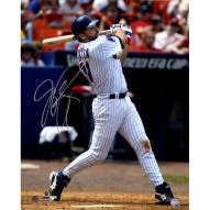 """New York Mets Mike Piazza Swing Signed 16"""" x 20"""" Photo"""