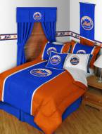 New York Mets MLB Applique Bedding Set